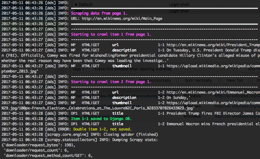 Development — django-dynamic-scraper 0 13-beta documentation